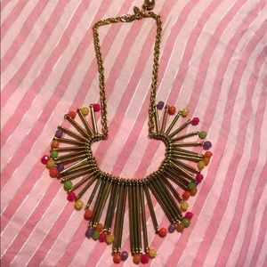 Kate Spade Colorful Beaded Bib Necklace